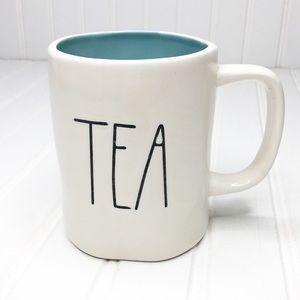 Rae Dunn | TEA Blue Interior Mug